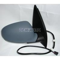 Golf  Зеркало правое электрическое с подогревом , автоскладыванием с указателем поворота (aspherical) грунтованное