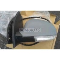 Golf  Зеркало левое электрическое с подогревом , указатель поворота (aspherical) грунтованное