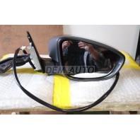 Jetta {6  Зеркало правое электрическое с подогревом указателем поворота (aspherical) грунтованное