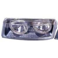 Passat  Фара левая+правая (комплект) тюнинг прозрачная с 2 светящимися ободками(DEPO)внутри черная