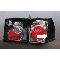 Passat  Фонарь задний внешний+внутренний левый+правый (комплект) тюнинг (СЕДАН) прозрачный (LEXUS ТИП) (SONAR) внутри черный