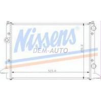 Passat  Радиатор охлаждения (NISSENS) (NRF) (GERI) (см.каталог)