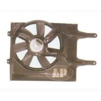 Passat  Мотор+вентилятор радиатора охлаждения с корпусом