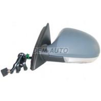 Passat  Зеркало левое электрическое с подогревом автоскладыванием,с указателем поворота,с нижней подсветкой(aspherical) грунтованное