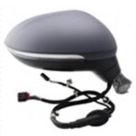 Passat  Зеркало правое с автоскладыванием,подогревом указателем поворота Side assist подсветкой памятью 13 + 2 КОНТ (convex)грунтованное