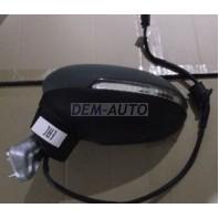 Passat  Зеркало левое электрическое с подогревом,указателем поворота автоскладыванием 8 контактов (Китай) грунтованное