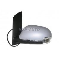 Touran  Зеркало левое электрическое с подогревом,указателем поворота (aspherical) грунтованное