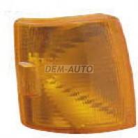 Transporter Указатель поворота угловой правый под прямоугольную решетку (DEPO) желтый