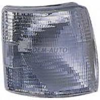 Transporter Указатель поворота угловой правый под прямоугольную решетку белый