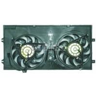 {200W+450W} Мотор+вентилятор радиатора охлаждения двухвентиляторный с корпусом 2л {200W+450W}