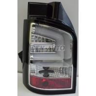 Transporter  Фонарь задний внешний левый+правый (комплект) тюнинг с диодным указателем поворота светящимися секциями (SONAR) внутри хром