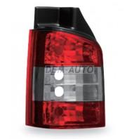 Transporter  Фонарь задний внешний левый+правый (комплект) тюнинг (JUNYAN) красно-хромированный