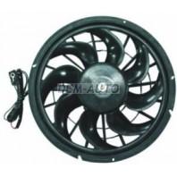 940 {740/760/960/s90}  Мотор+вентилятор радиатора охлаждения с корпусом
