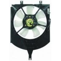 S40 {v40}  Мотор+вентилятор конденсатора кондиционера с корпусом