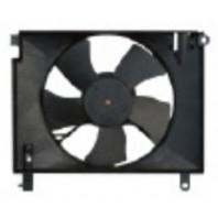 Aveo {+t250}  Мотор+вентилятор радиатора охлаждения (Китай) без кондиционера