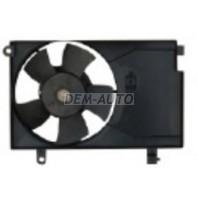 Aveo  Мотор+вентилятор конденсатора кондиционера (Китай)