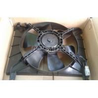 Aveo {+t250} Мотор+вентилятор радиатора охлаждения с корпусом без кондиционера
