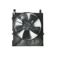 Aveo {+t250} Мотор+вентилятор радиатора охлаждения с корпусом с кондиционером
