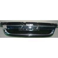 Aveo  Решетка радиатора (СЕДАН) (Китай) хромированно-черная