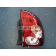 Lanos  Фонарь задний внешний правый (седан) CHEVROLET хрустальный (Китай) красно-белый