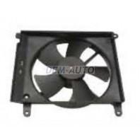 Lanos  Мотор+вентилятор радиатора охлаждения с корпусом (Китай)