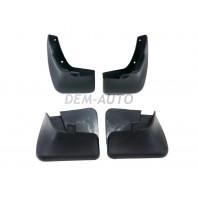 Nexia  Брызговик переднего крыла левый+правый (комплект) + задние (4 штуки) (Китай)