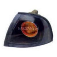 Nexia  Указатель поворота угловой левый тюнинг прозрачный хрустальный внутри черный