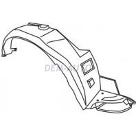 Accent  Подкрылок переднего крыла правый (4 дв) (5 дв)