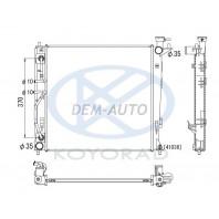 {KIA SPORTAGE 10-} Радиатор охлаждения (дизель) 2 автомат (KOYO)
