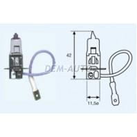 H3 {12v-55w / pk22s}  Лампа упаковка (1 шт)
