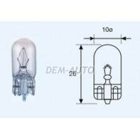 W3w {t10 12v-3w / w2.1x9.5d}  Лампа упаковка (10 шт)