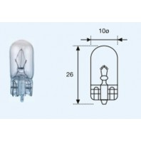 W5w {t10 12v-5w / w2.1x9.5d}  Лампа упаковка (10 шт)