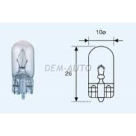 W5w {t10 24v-5w / w2.1x9.5d}  Лампа упаковка (10 шт)