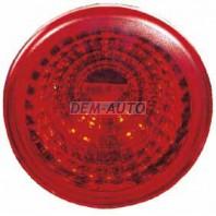 Фонарь задний внешний левый=правый круглый красный (DEPO)