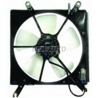 Accord {cb+cc+cd+ce} Мотор+вентилятор радиатора охлаждения с корпусом (DENSO-ТИП)