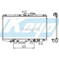 Accord {cf Радиатор охлаждения автомат 1.8 2 2.3 (KOYO)(350 х 678mm)