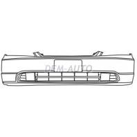 Civic  Бампер передний (СЕДАН) (КУПЕ) грунтованный