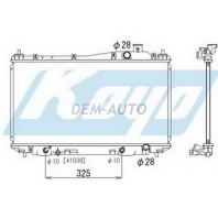 Civic Радиатор охлаждения (СЕДАН) (КУПЕ) автомат 1.5 1.6 1.7 (KOYO)