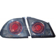 Civic  Фонарь задний внешний+внутренний, левый+правый (комплект) (седан), тюнинг, диодный, стоп-сигнал, тонированно-красный