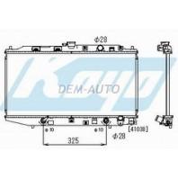 Радиатор охлаждения автомат 1.6 (KOYO)