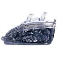 Civic  Фара левая+правая (комплект) тюнинг прозрачная хромированная