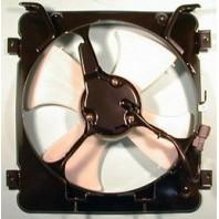 Мотор+вентилятор конденсатора кондиционера с корпусом