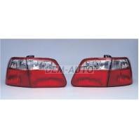 Civic  Фонарь задний внешний+внутренний, левый+правый (комплект), тюнинг (седан) (SONAR), внутри тонированно-красный