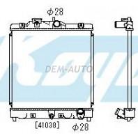 {+ HRV 98-} Радиатор охлаждения механика 1.3 1.5 (DENSO-ТИП) (KOYO)