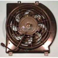Rodeo {amigo/passport}  Мотор+вентилятор конденсатора кондиционера с корпусом автомат