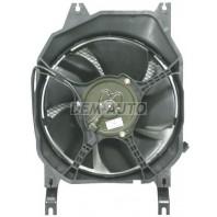 Trooper {op monterey} Мотор+вентилятор конденсатора кондиционера с корпусом