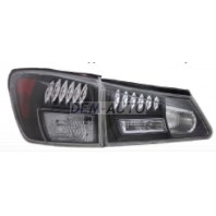Is200/300 Фонарь задний внешний+внутренний, левый+правый (комплект), тюнинг, с диодами (EAGLE EYES), прозрачный, внутри черно-хромированный
