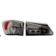 Is200/300 Фонарь задний внешний+внутренний, левый+правый (комплект), тюнинг, с диодами, тонированный (EAGLE EYES), внутри черно-хромированный