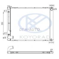 Радиатор охлаждения автомат 3 3.3 (KOYO)