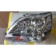 Rx300  Фара левая (USA) внутри хромированная